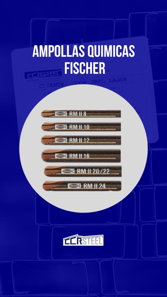 Ampollas Quimicas Fischer Steel Framing