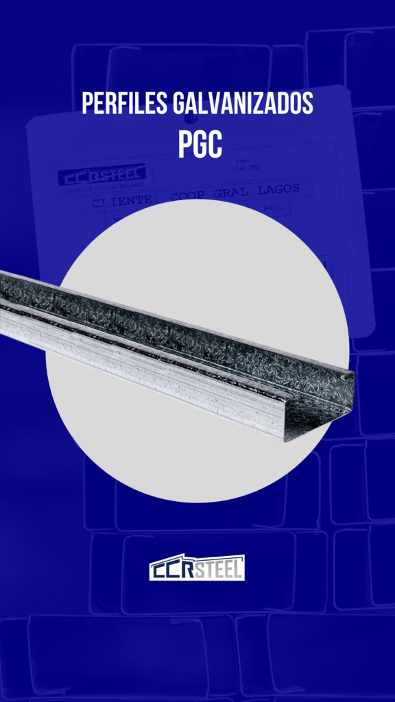 Perfil PGC Steel Frame