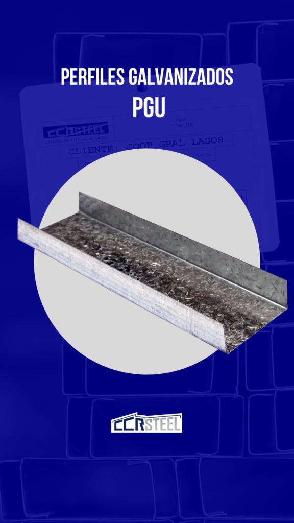 Perfil PGU Steel Framing